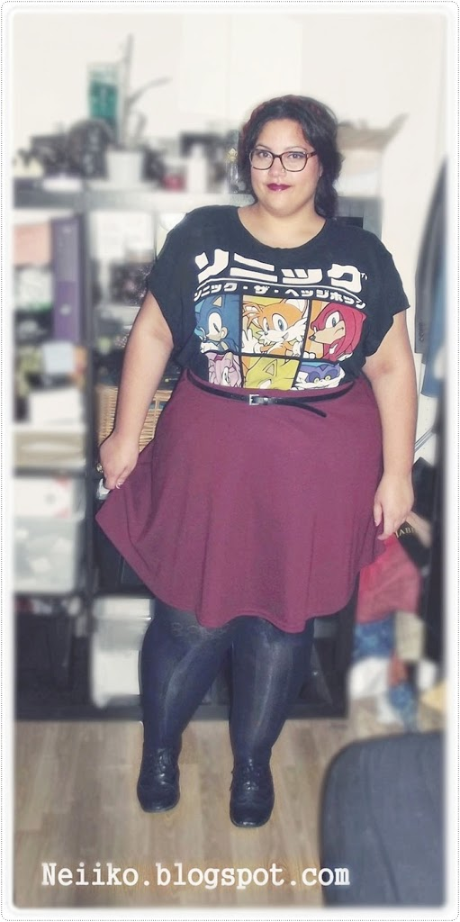 geek plus size shirt