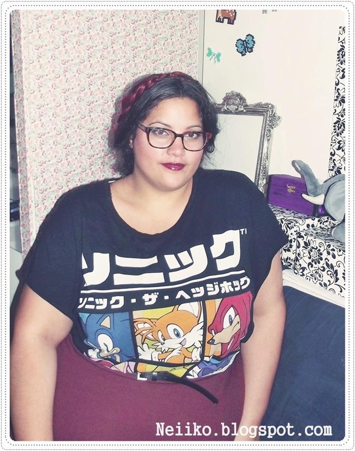 sonic geek shirt