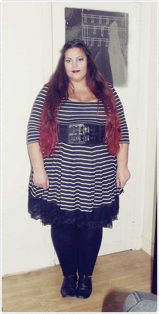 Plus size fashion newlook dress