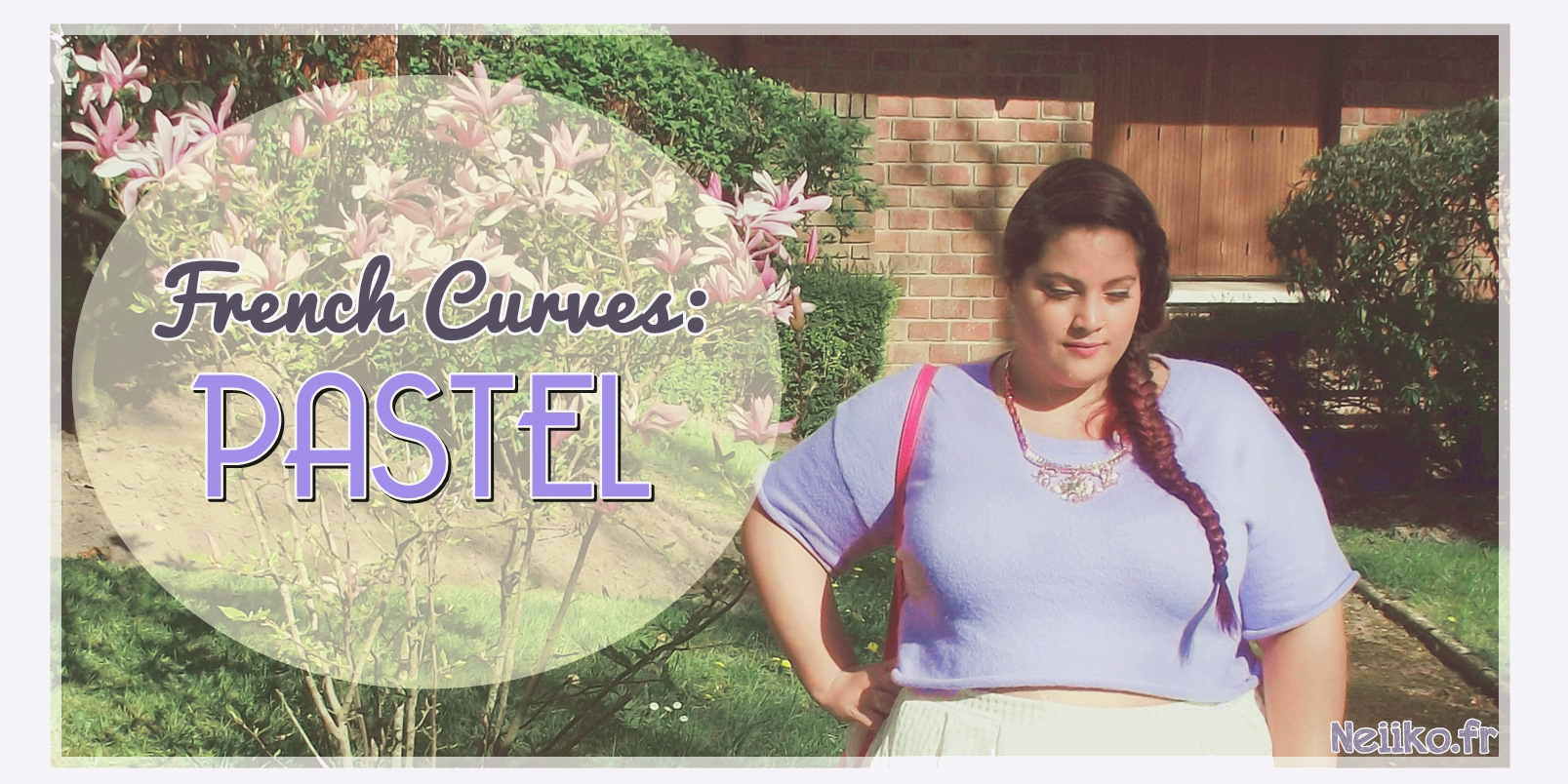 french curve challenge pastel outfit