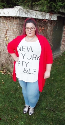 red coat plus size