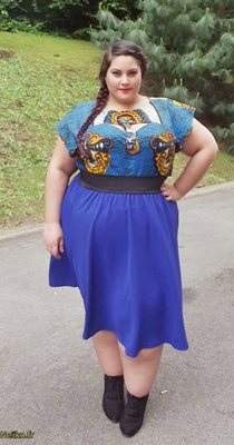 plus-size-african prints