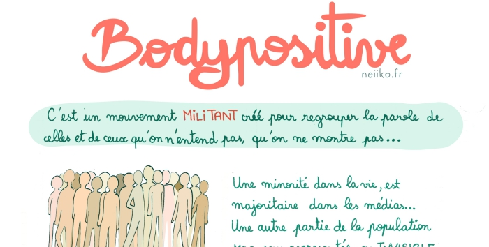 « bodypositive » « grossophobie », besoin de survie contre outil marketing.